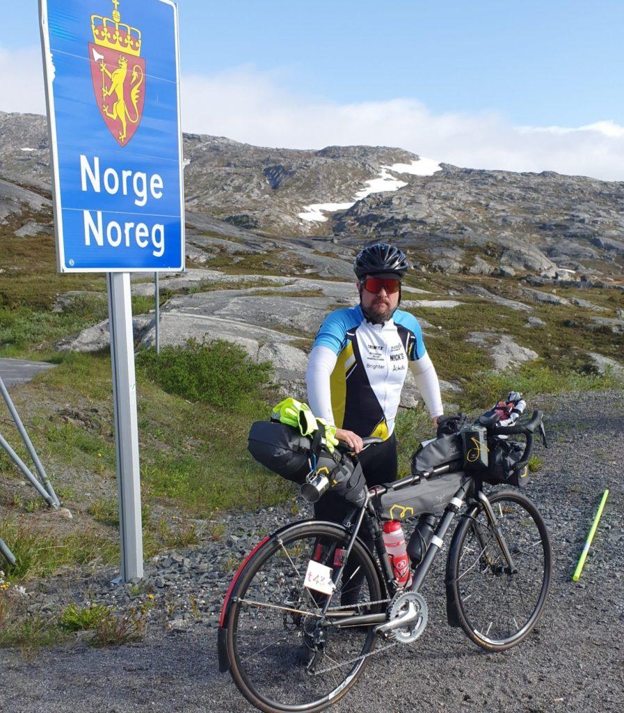 Norska gränsen innan start